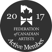 Federation of Canadian Artists Badge
