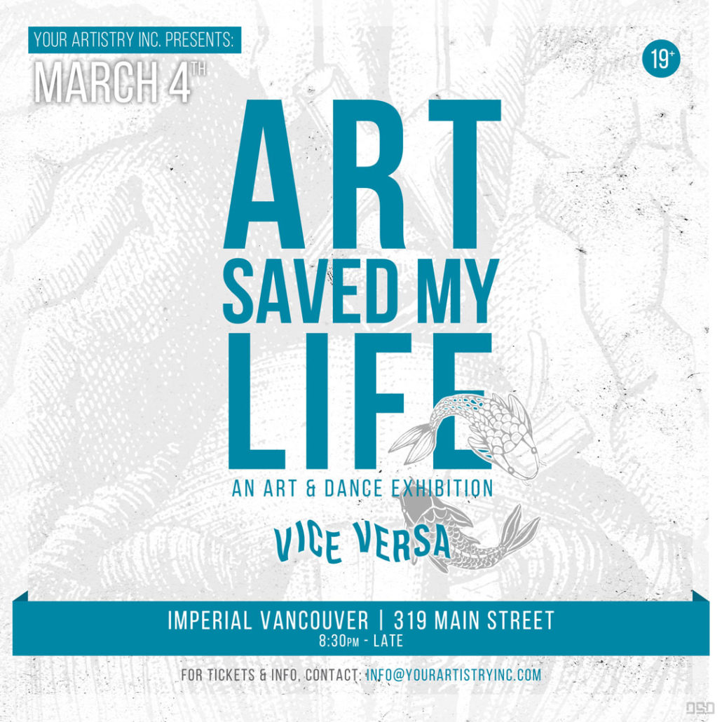 Art Saved My Life by My Artistry Inc.