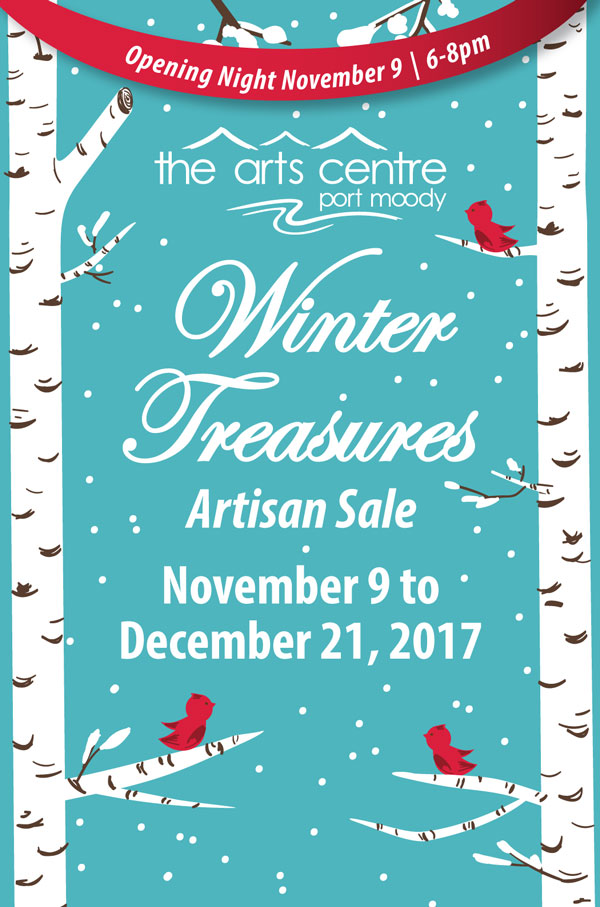Port Moody Arts Centre: Winter Treasures Show